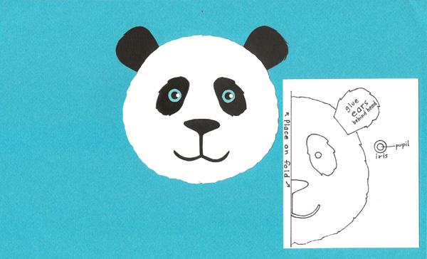 make-a-panda-face